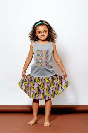 Afriq Password - Tribal skirt