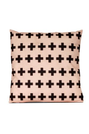 MIA home passion - Poduszka Cross multi beige