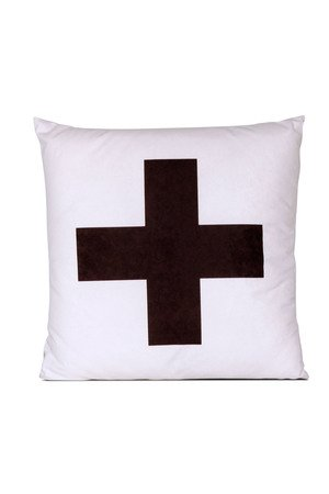 MIA home passion - Poduszka Cross black