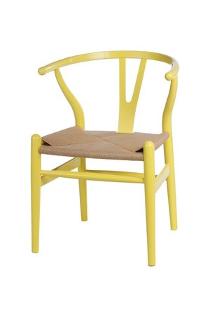 MIA home passion - Krzesło Wood yellow