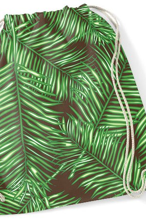 Syrenka Store - Backpack - Palm Leaves