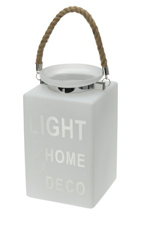 MIA home passion - Lampion szklany LIGHT HOME DECO