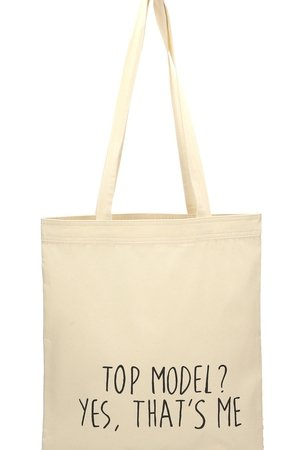 Letter Bag - Top model? Yes, that's me Letter Bag