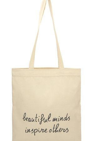 Letter Bag - Beautiful minds inspire others Letter Bag