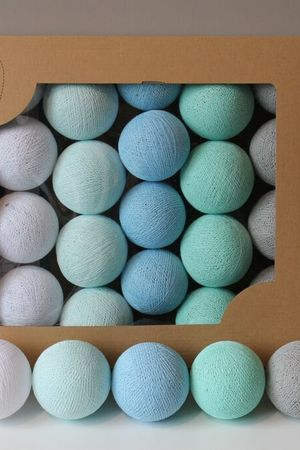 MIA home passion - Cotton Balls Mint Pastel 20 szt.