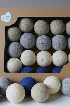 MIA home passion - Cotton Balls Royal Sand 10 szt.