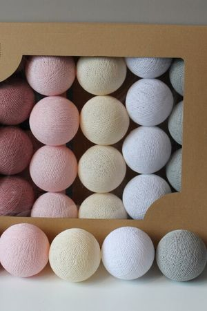 Cotton balls pink dream 20 szt 0c8c10