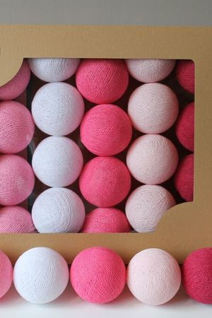 Cotton balls sweet pink 10 szt d93e90