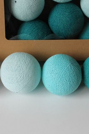 MIA home passion - Cotton Balls Aqua 10 szt.