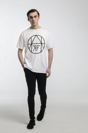HARP TEAM - T-SHIRT CIRCLE WHITE