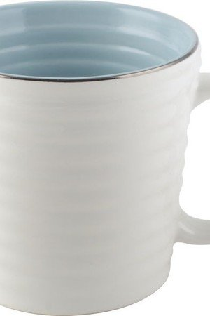 MIA home passion - Kubek Cafetiere light blue