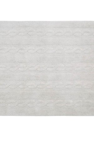 Dywan trenzas pearl soft grey 120x160 cd7041