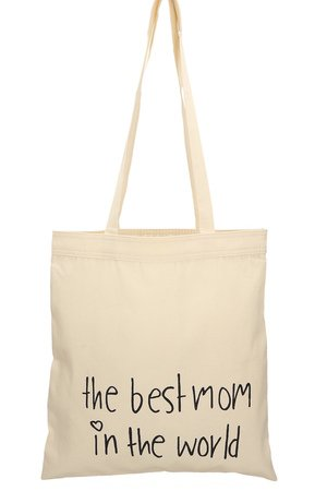 Letter Bag - the best mom in the world