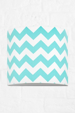 MIA home passion - Kinkiet chevron turkusowy