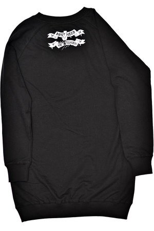 DON'T NEED NO SAMURAI - Wild Vibes Sweatshirt Black