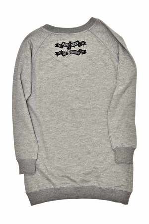 DON'T NEED NO SAMURAI - Wild Vibes Sweatshirt Grey