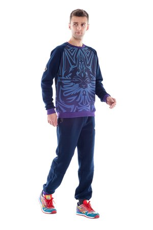 OKUAKU - Bastet Sweatshirt (Purple)