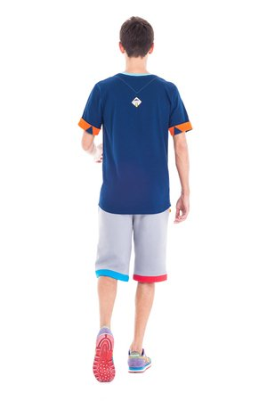 OKUAKU - Horus Pocket T-shirt (Blue)