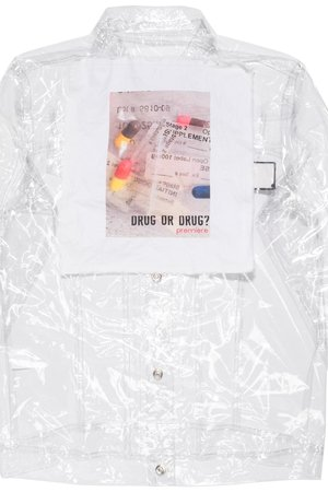 Drugs jacket transparent 5ce63d