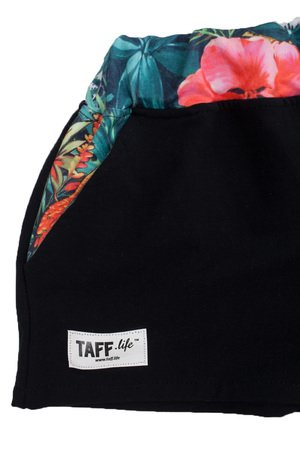 taff.one - Cozy Shortz Jungle Black