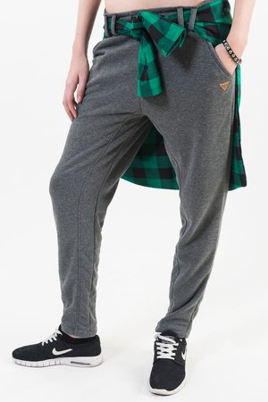 Grey basic sweatpants fd05e9