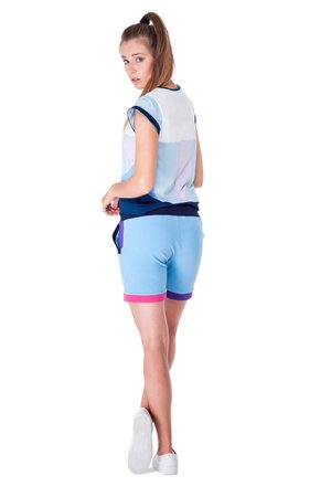 OKUAKU - Serpens Shorts (Baby Blue)