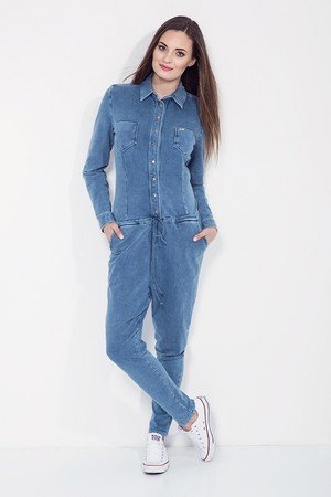 Bien Fashion - Kombinezon damski Denim