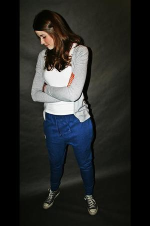 Button - SPODNIE 2 BUTTONS JEANS PANTS UNISEX