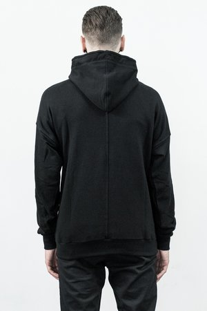 Oversized suede pocket hoodie 0c11e8