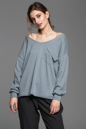 Soulmates - SOULMATES loose sweater
