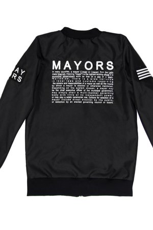 MAJORS - BOMBER MAYORS BLACK