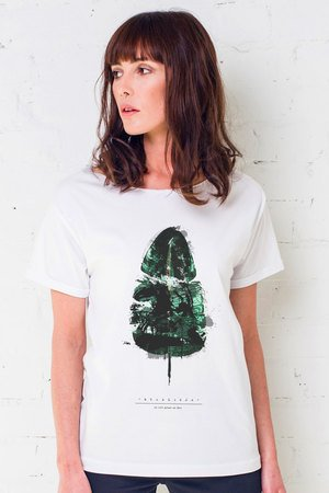 Pineapple painted oversize t shirt eb00fe