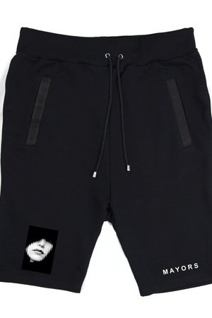 MAJORS - BLK SHORTS