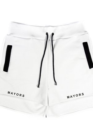 MAJORS - WMN SHORTS WHITE