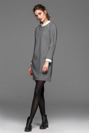 Soulmates - SOULMATES spanish grey dress