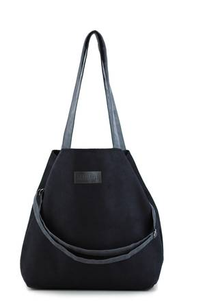 Mili-tu - Duża torba typu shopper Mili Duo MD1 - black