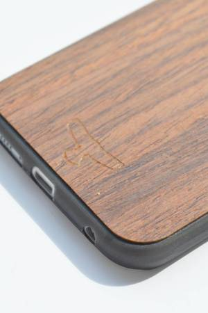 Manitou - Thundercase Walnut Black S6 EDGE II