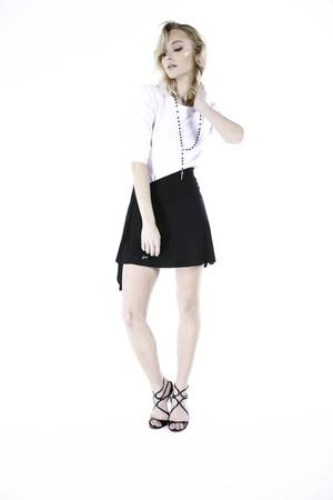 GLAM - #GLAM NO ZIPPER SKIRT