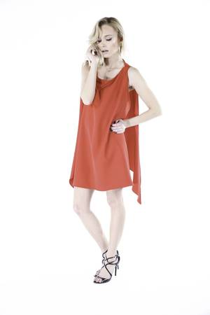 GLAM - #GLAM ANGEL DRESS RED LIMITED