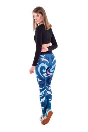 OKUAKU - Mut Leggings (Navy Blue)