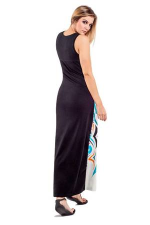 Pavo maxi dress grey
