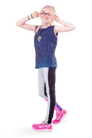 Vela leggings blue