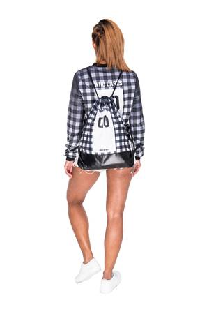Who Cares - Leather Bottom Chequered