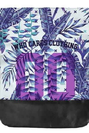 Who Cares - Leather Bottom Purple Zero