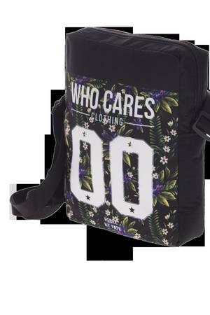 Who Cares - City Bag Violet Flowers