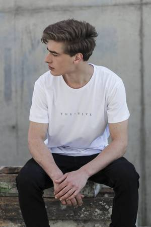 The Hive - HIVE TEE IN WHITE
