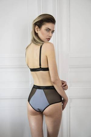 High waist brief panty ss17