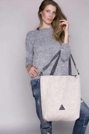 Torba basic popiel bordo