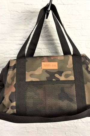 Mili-tu - Sportowa torba Mili Fit Bag - black/moro