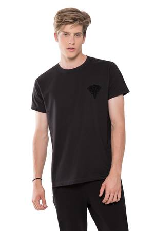 GAANEESH - T-SHIRT BLACK LOGO